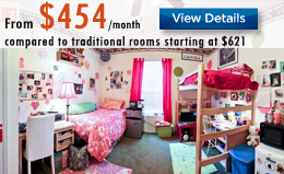 Double Rooms Luxury Dorms