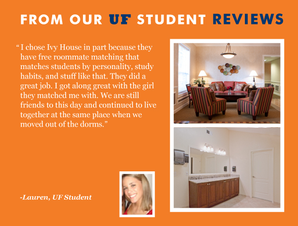 luxury double dorm review near UF